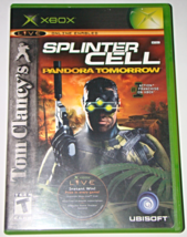 XBOX - UBISOFT - SPLINTER CELL PANDORA TOMORROW (Complete with Manual) - $6.75