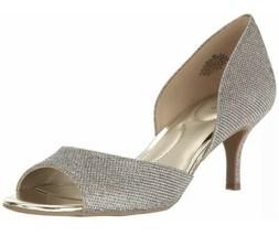 Bandolino Womens Nubilla Open Toe, Gold Glamour, Size 6 - $38.69