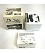 BOSE UB-1 Wall/Ceiling Speaker Mounting Bracket Kit, Black NEW - $19.79
