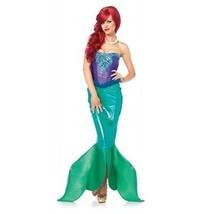Leg Avenue Mare Profondo Sirena Sirenetta Principessa Costume Halloween 85368 - $93.45