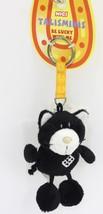 "NICI Cat Black Dice Animal Plush Stuffed Toys Bean Bag Key Chain Keyring 4"" - $12.50"