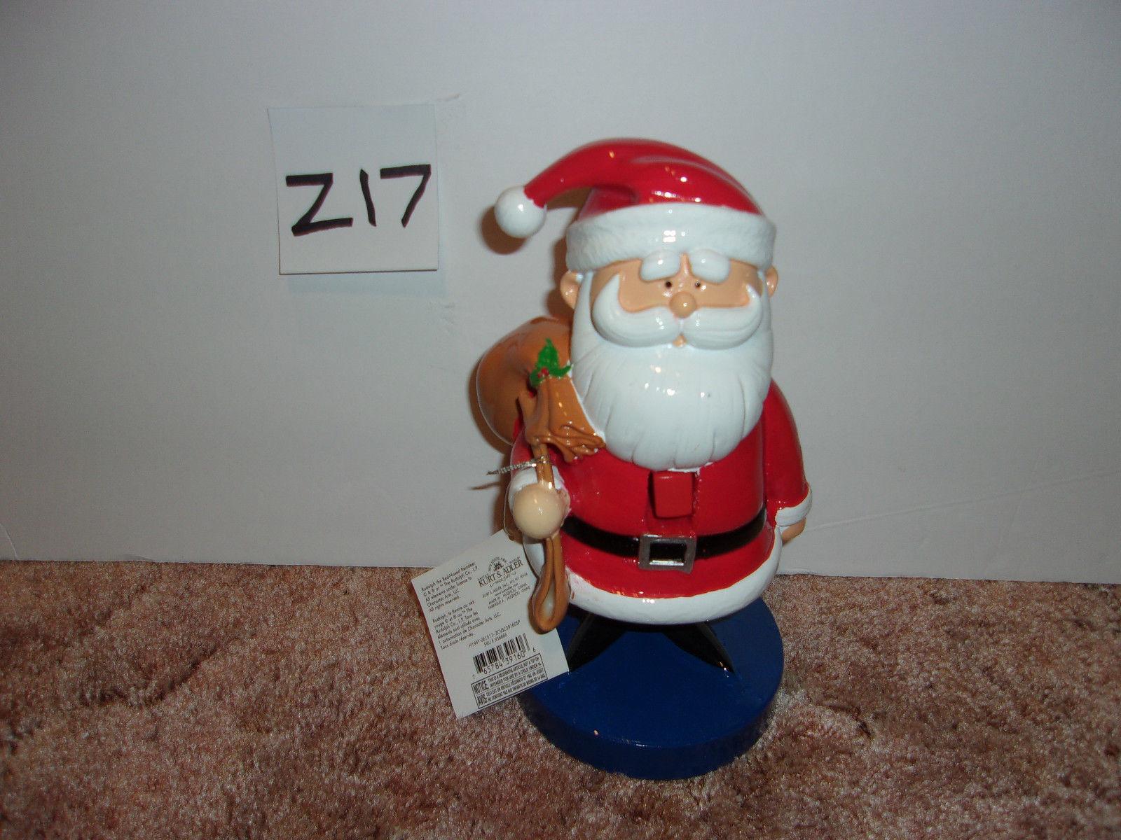 """Kurt Adler Santa Nutcracker from Rudolph The Red Nosed Reindeer 9"""" tall - NEW - $24.99"""