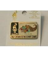 Olympic Lapel Pin Countdown 1996 Atlanta 239 DAYS Until Games Thanksgiving 52018 - $15.83