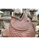 Vintage Japanese Ceramic Koi Carp Vase - 0701-0040 - $845.00