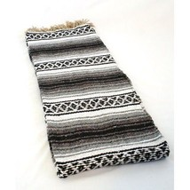 #11 Black Yoga Meditation Workout Blanket Mat Throw Falsa Mexico Beach C... - $17.99 CAD