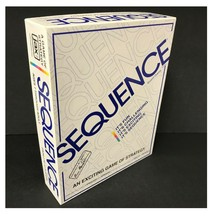 Sequence Board Game 1995 English & Spanish Instructions Exciting Fun Game  - $14.97