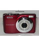 Nikon COOLPIX L22 12.0MP Digital Camera - Red 3.6x Optical Zoom - $70.13