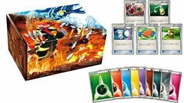 Card box with Gen Pokemon card game energy card your Groudon Gen your Ky... - $54.33