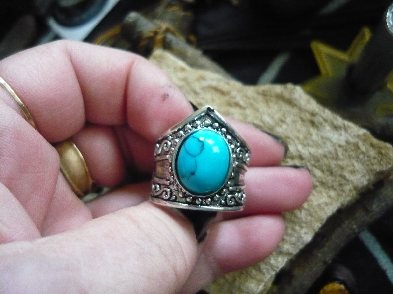 HAUNTED DJINN OF THE PHARAOHS! SIZE 7 - $175.00