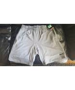 Nike XL Dri-Fit TOUCH FLEECE Men's Training Shorts 669849 066 Cool Grey - $35.96