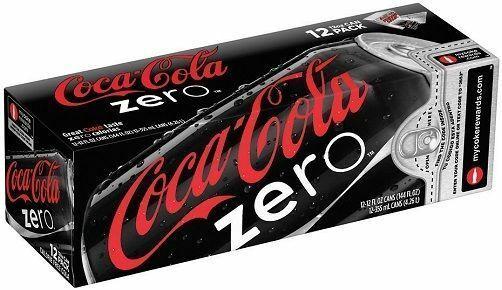 Coca Cola Coke Zero 12 pack