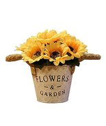 George Jimmy Artificial Flowers for Wedding/Party Table Ornaments-Sunflo... - $24.86