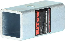 """HITOWMFG Trailer Hitch Receiver Adapter Reducer Sleeve 2-1/2"""" to 2"""" image 2"""