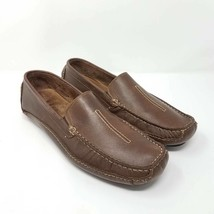 Clarks Mens England Mansell Driving Loafers Shoes Brown Leather Sz 10.5 ... - $34.99
