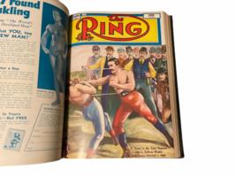 Vtg The Ring Magazine World's Official Boxing Bound Volume Feb 1951 - Jan 1952 image 6