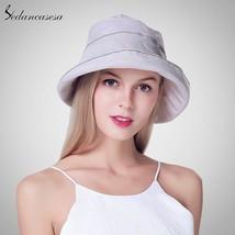 Sedancasesa® Reversible Bucket Hat Unisex Fashion Bob Caps Hip Hop Summe... - $28.94