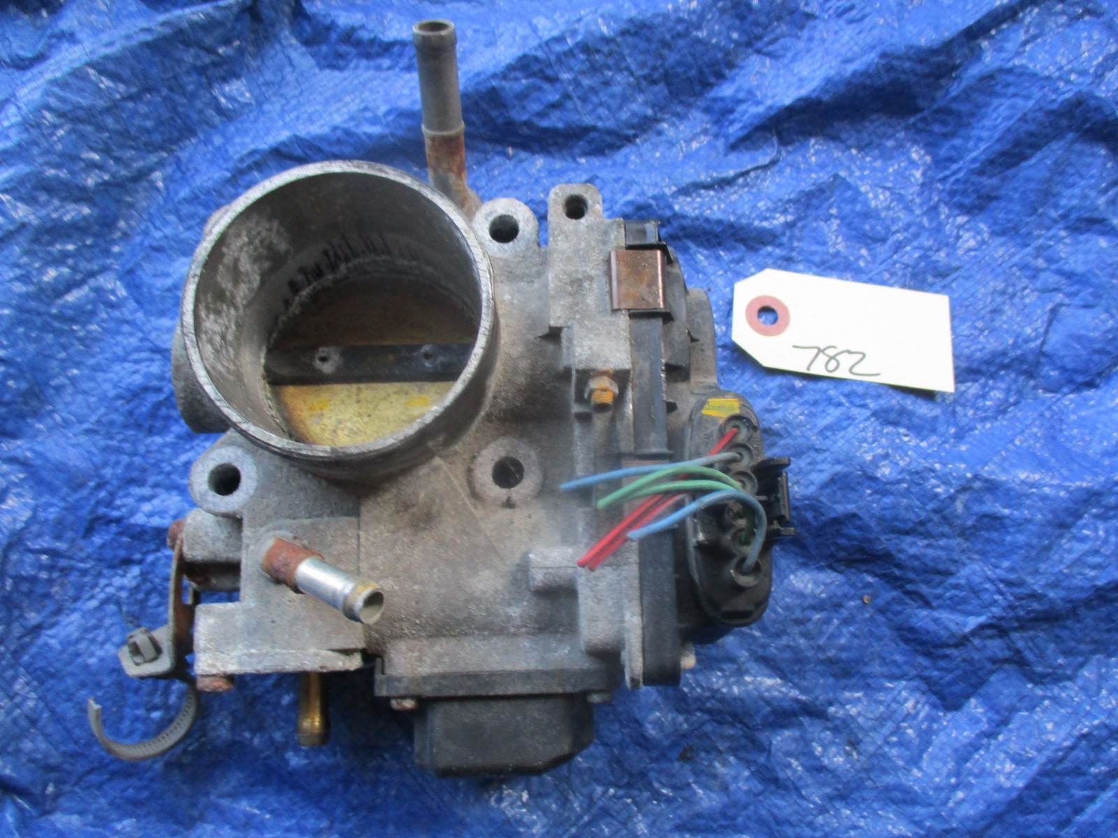 2004 Acura TSX K24A2 throttle body assembly OEM engine motor K24A base 782 GMB1A image 6