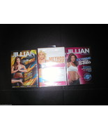 New DVD 3 Lot Yoga Shed & Shred Method Jillian Michaels Tracy Anderson 6... - $12.00