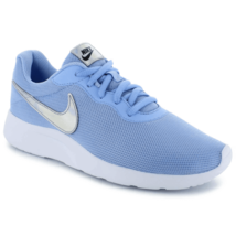 Nike Tanjun Women's Light Blue Silver White Running Shoes 812655 406 - $39.99