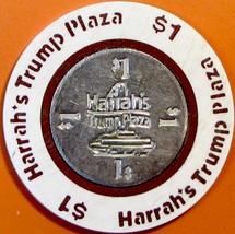 $1 Casino Chip. Harrahs Trump Plaza, Atlantic City, NJ. W25. - $3.99