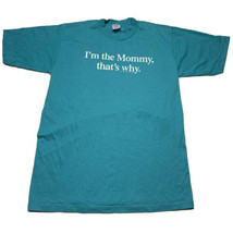 Vintage 80s Jerzees By Russell Adult M Im The Mommy T Shirt Usa Single S... - $29.63