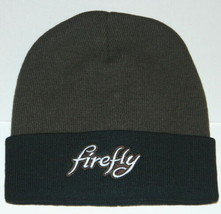 Firefly TV Series Embroidered Name Logo Licensed Brown Beanie Cap Hat NE... - $21.28