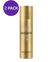 Paco Rabanne Lady 1 Million Deodorant Spray For Women, 5.1 oz (2 PACK) - $64.47