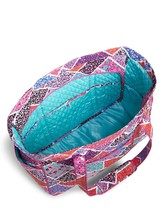 Vera Bradley Signature Cotton Get Carried Away Tote, Modern Medley image 3