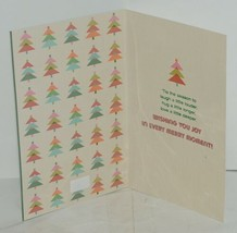 Hallmark XZH 633 4 Colorful Make It Merry Letters Christmas Card Package 3 image 2