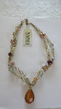 Vintage Napier Cafe Aulait Necklace with Tag - $15.00