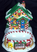 Dept 56 M&M's Candy Store Lighted House Candy D... - $28.05