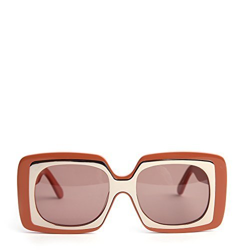 Karen Walker Hothouse Unisex Sunglasses KAS1501583 Tan Gold