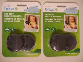 Lot of 2 (total of 4)  Brica Car Seat Harness Magnet Clips - $22.76