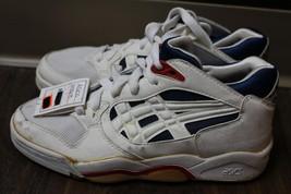 Nos deadstock vtg 80s asics gel Sy 363  high top basketball? shoes women... - $4.122,28 MXN