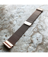 Modern Rose Gold Color Adjustable Milanese Loop Mesh Band Strap for Fitb... - $35.00