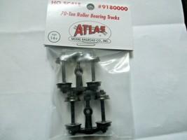 Atlas # 180000 (9180000) 70 Ton Roller Bearing Trucks 1 Pair  HO Scale image 1