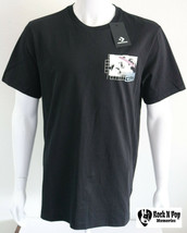Mens Converse Cons Graphic Tee  T Shirt Short Sleeve Black Cotton Sizes ... - $19.99