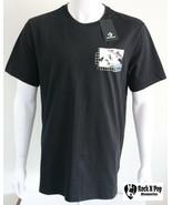 Mens Converse Cons Graphic Tee  T Shirt Short Sleeve Black Cotton Sizes ... - $23.73