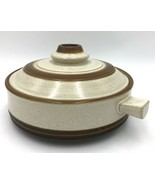 "Denby Potters Wheel Rust Stoneware England 10"" Lidded Casserole Dish - $29.99"