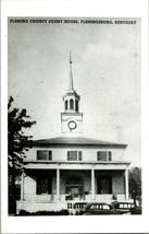 Vtg Kodak Real Foto Postal RPPC Fleming County Tribunal Casa Flemingsburg Ky - $33.81
