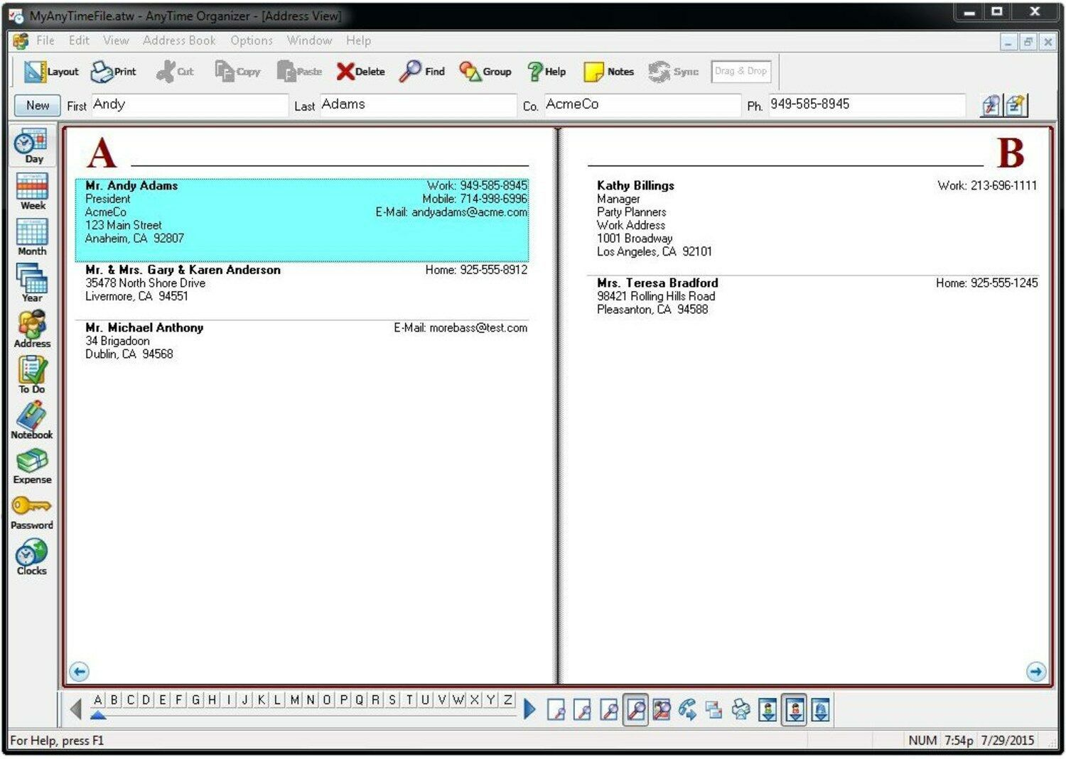 Individual Software Anytime Organizer Deluxe 15 PC image 3