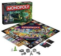 Rick and Morty Monopoly  by USAopoly  - $53.97