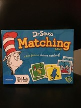 Dr. Seuss Matching Game for Preschool Ages 3+ - $13.80