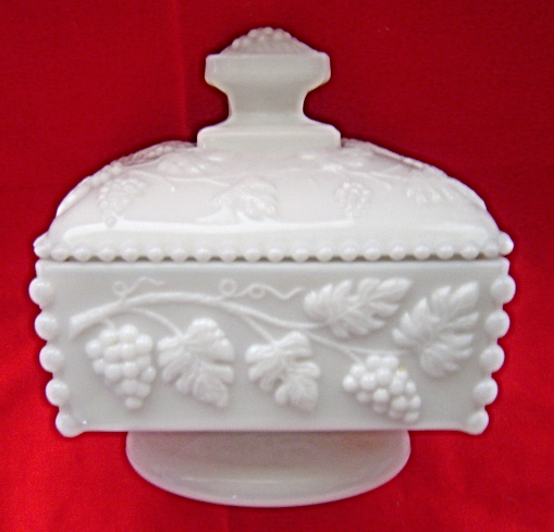 Vintage Westmoreland Square Milk Glass And 50 Similar Items