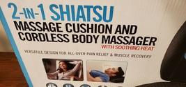 HoMedics® 2-in-1 Shiatsu Massage Cushion and Cordless Body Massager - $229.99