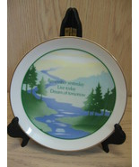 Designers Collection Plate Fine Porcelain Remember Yesterday Live Today - $7.95