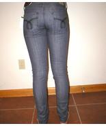 New NWT $59 Ymi Jeans Sienna Skinny Gray Juniors 1 25 X 31 Girls Medium ... - $23.60