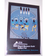"Delmar Boni Native American Indian Apache 1982 ""Crown Dancers"" Litho Pos... - $1,299.99"