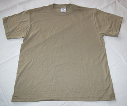 Boys youth Jerzees Heavyweight Blend short sleeve t shirt Khaki L 14-16 ... - $11.08