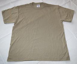 Boys youth Jerzees Heavyweight Blend short sleeve t shirt Khaki L 14-16 ... - $11.08